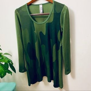 Military Green Camouflage Tunics size M